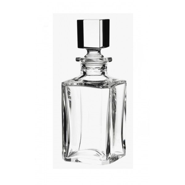 Square flecked decanter