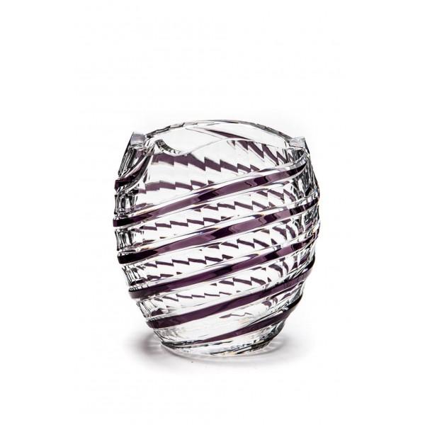 Amethyst Serpentine vase