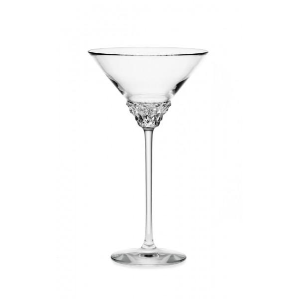 Verre à cocktail sur pied...