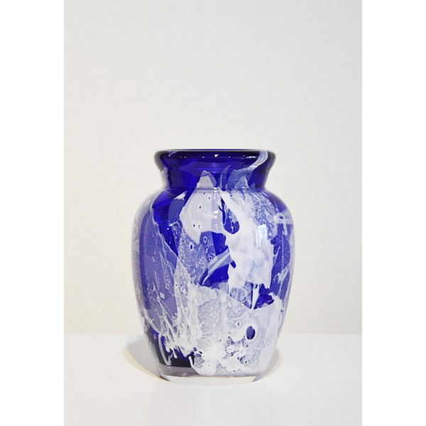 "Vase ""Freestyle"" blue and..."