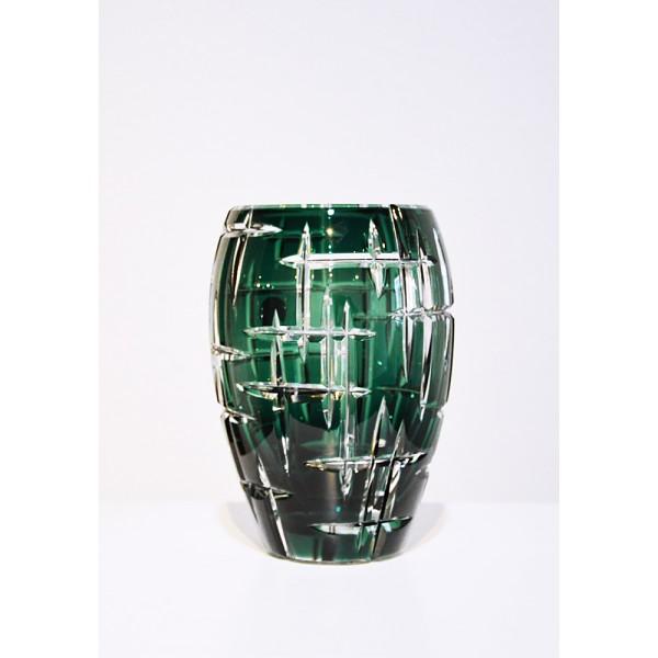 "Vase Aventin green ""hommage..."