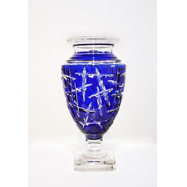 Vase Jupiter blauw
