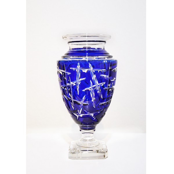 Vase Jupiter blue