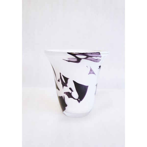 "Vase ""Freestyle"" white and..."