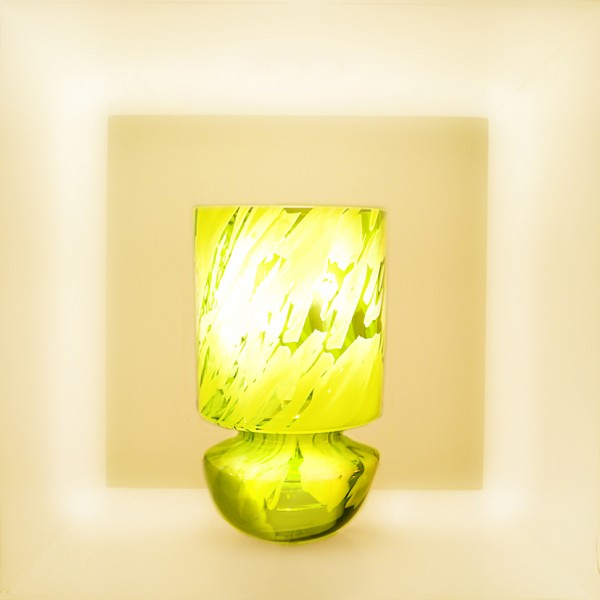 "Lampe ""Elise""style abstract"