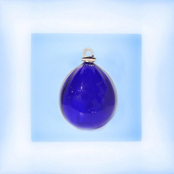 "Kerstbal ""kobalt blauw"""